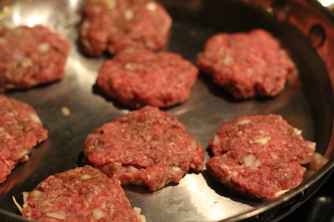 Ground Beef Slider Patties