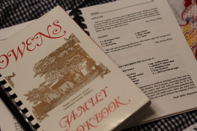 Owens Family Cookbook--Lexington, AL