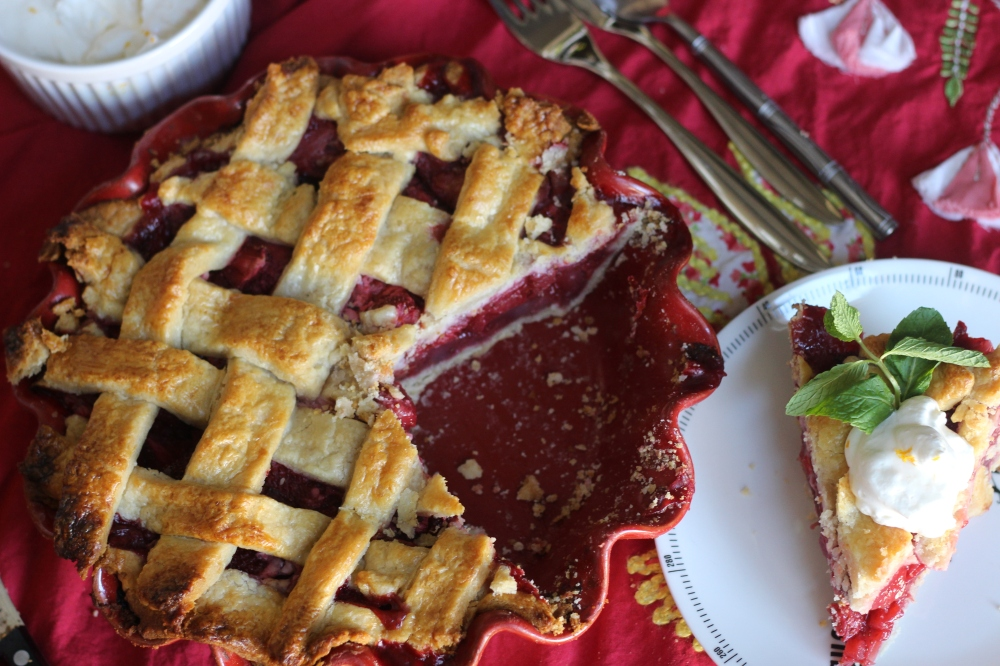 Updated, Old Fashion Strawberry Pie