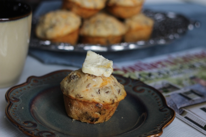 Sausage & Cheese Buttermilk Muffin